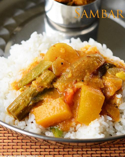 அரைத்துவிட்ட சாம்பார் (Arachuvitta sambar)