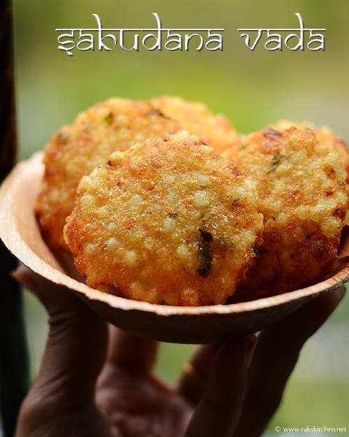 ஜவ்வரிசி வடை, javvarisi vadai recipe
