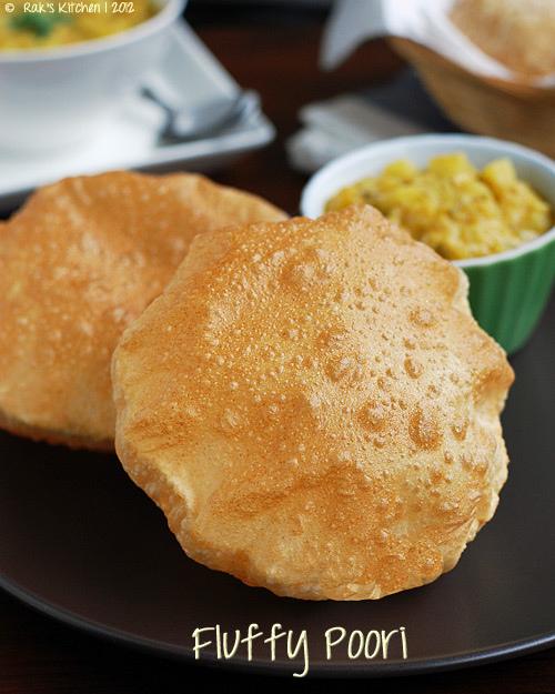 பூரி செய்முறை, poori recipe